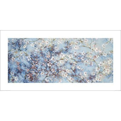 Art Group Oriental Blossom by Nicola Acaster Art Print