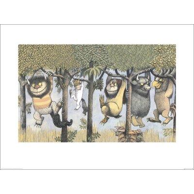 Art Group Let the Wild Rumpus Start II by Maurice Sendak Vintage Advertisement