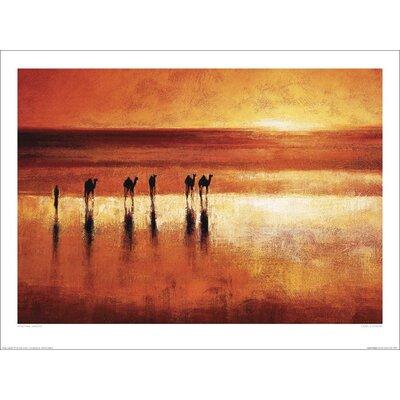 Art Group Camel Crossing by Jonathan Sanders Art Print