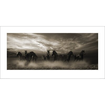 Art Group Wild Stampede by Malcolm Sanders Photographic Print
