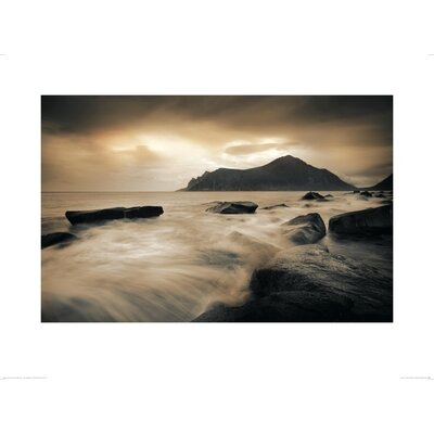 Art Group Sepia Sea, Lofoten Islands by Andreas Stridsberg Photographic Print