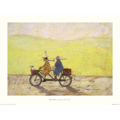 Art Group Grand Day Out by Sam Toft Art Print