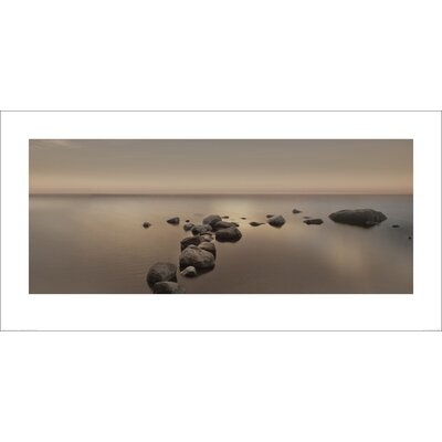 Art Group Calm Sea by Ian Winstanley Photographic Print