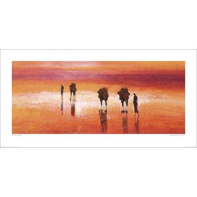 Art Group Camels, Chalbi Desert, Kenya by Jonathan Sanders Art Print