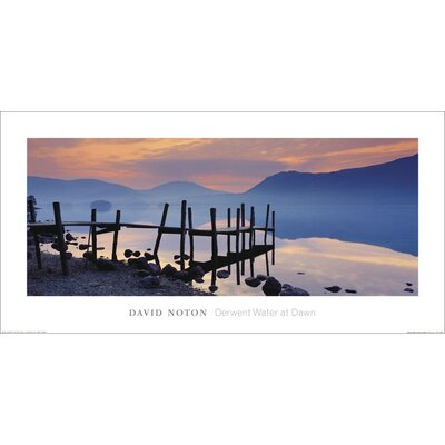 Art Group Derwent Water at Dawn, Cumbria by David Noton Photographic Print
