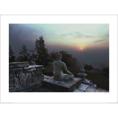 Art Group Buddha at Sunset by Ed Freeman Photographic Print