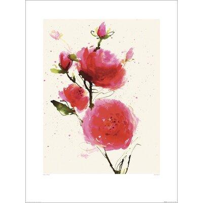 Art Group Wild Ruby Print Art by Summer Thornton Art Print