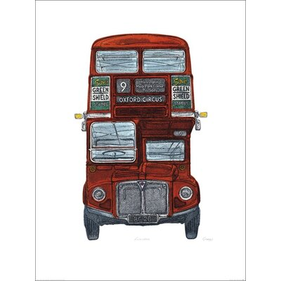 Art Group Routemaster by Barry Goodman Graphic Art