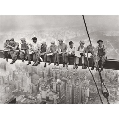 Art Group City Lunch by Charles Clyde Ebbets Photographic Print