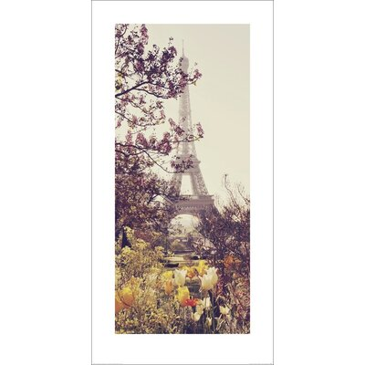 Art Group Springtime in Paris by Liz Rusby Photographic Print
