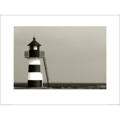 Art Group The Lighthouse, Oddesund, Jylland, Denmark by Hakan Strand Photographic Print