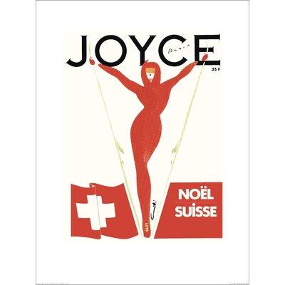 Art Group Joyce, Noël, Paris by Michel Canetti Graphic Art Plaque