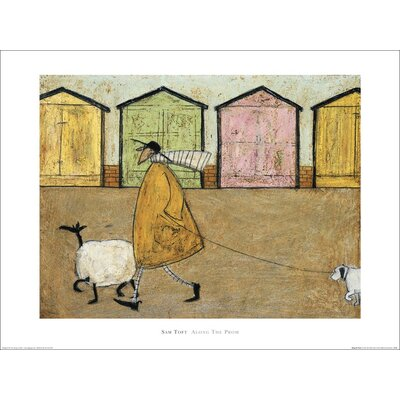 Art Group Along the Prom by Sam Toft Art Print