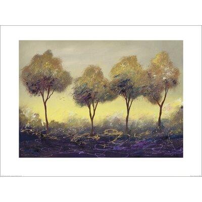 Art Group Purple Haze 1 by Serena Sussex Art Print