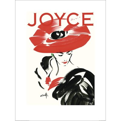 Art Group Joyce Cover by Michel Canetti Graphic Art Plaque
