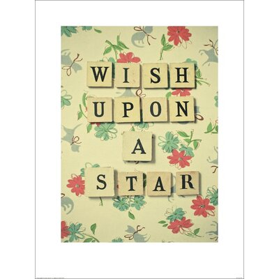 Art Group Wish Upon a Star by Cassia Beck Typography