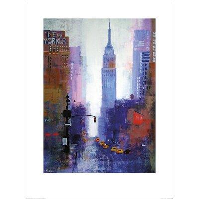 Art Group Manhattan Empire State by Colin Ruffell Art Print