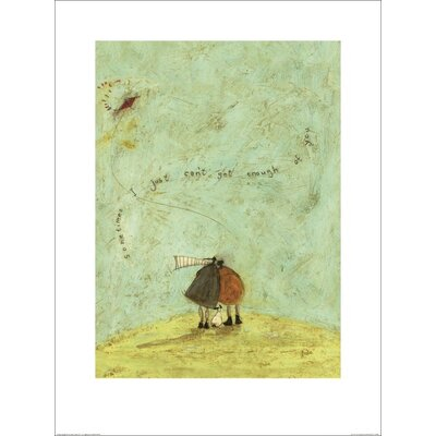 Art Group I Just Can't Get Enough of You by Sam Toft Art Print
