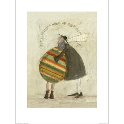 Art Group Remembering When We First Met by Sam Toft Art Print