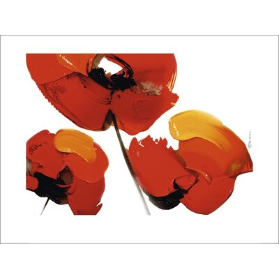 Art Group Three Poppies by Tibi Hegyesi Art Print