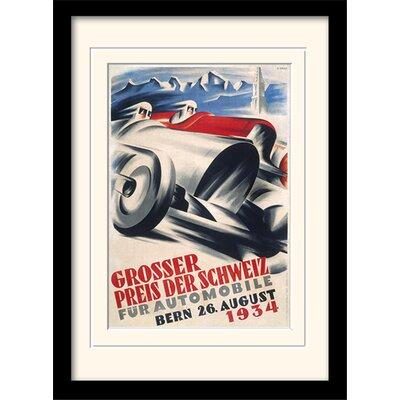 "Art Group Monaco ""5"" Mounted Framed Vintage Advertisement"