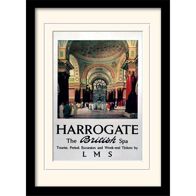 Art Group Harrogate Framed Vintage Advertisement