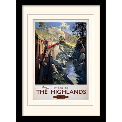 Art Group The Highlands Framed Vintage Advertisement