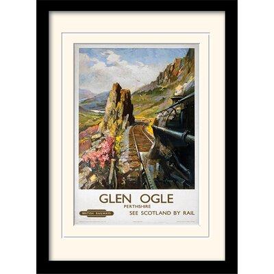 Art Group Glen Ogle Framed Vintage Advertisement