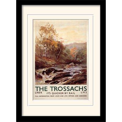 Art Group The Trossachs Framed Vintage Advertisement