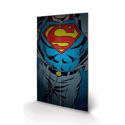 Art Group DC Comics Superman Torso Graphic Art Plaque