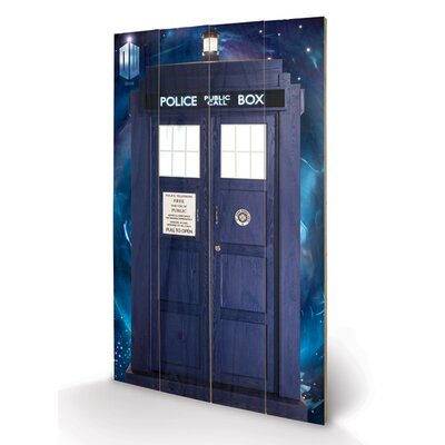 Art Group Doctor Who Tardis Graphic Art Plaque