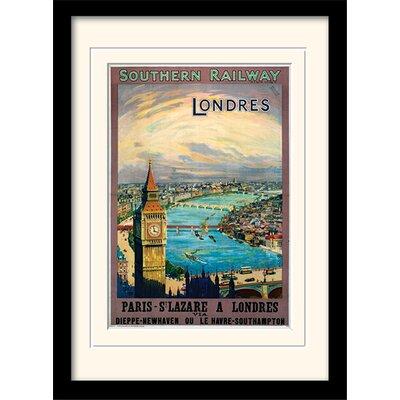 Art Group London 10 Mounted Framed Vintage Advertisement