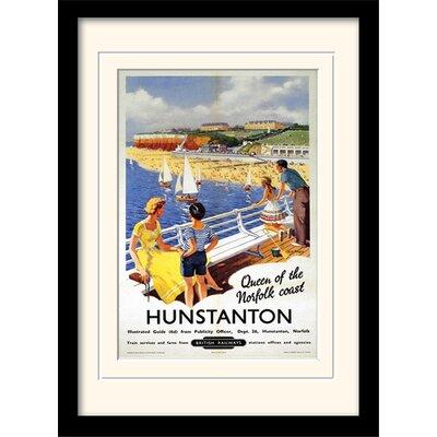 Art Group Hunstanton Mounted Framed Vintage Advertisement