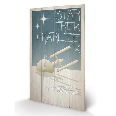 Art Group Charlie X by Star Trek Vintage Advertisement Plaque