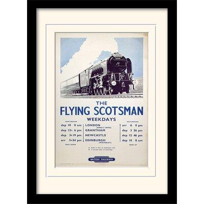 Art Group The Flying Scotsman Framed Vintage Advertisement