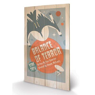 Art Group Balance of Terror by Star Trek Vintage Advertisement Plaque