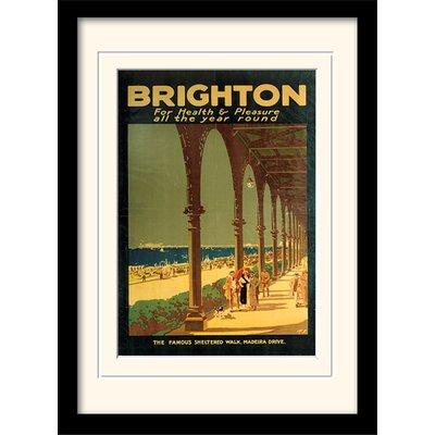 Art Group Brighton Framed Vintage Advertisement