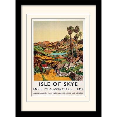Art Group Isle of Skye #2 Framed Vintage Advertisement