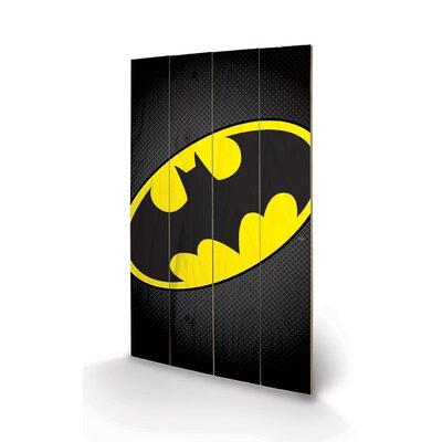 Art Group DC Comics Batman Symbol Graphic Art Plaque