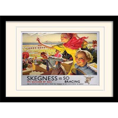 Art Group Skegness Mounted Framed Vintage Advertisement
