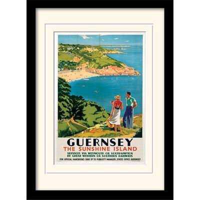 Art Group Guernsey Framed Vintage Advertisement