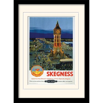 Art Group Skegness Mounted Framed Vintage Advertisement
