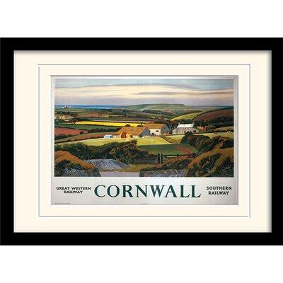 Art Group Cornwall #4 Framed Graphic Art