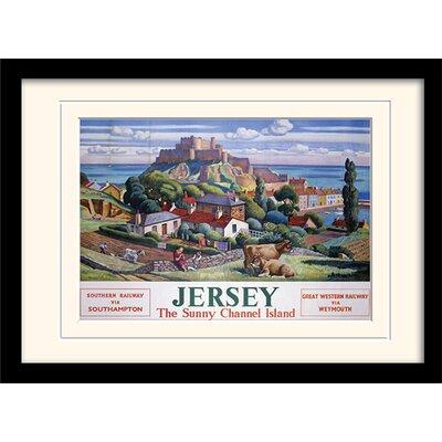 Art Group Jersey Framed Vintage Advertisement