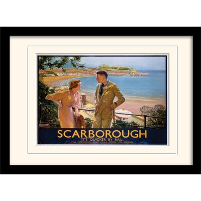 Art Group Scarborough Mounted Framed Vintage Advertisement
