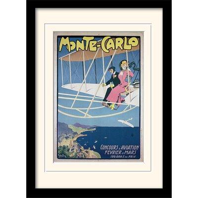 Art Group Monte Carlo Mounted Framed Vintage Advertisement