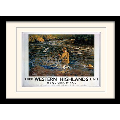 Art Group Western Highlands Framed Vintage Advertisement