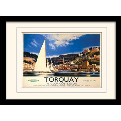 Art Group Torquay Framed Vintage Advertisement