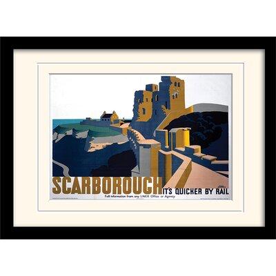 Art Group Scarborough Mounted Framed Vintage Advertisement