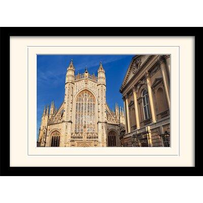 Art Group Bath Abbey and Roman Baths Framed Photographic Print